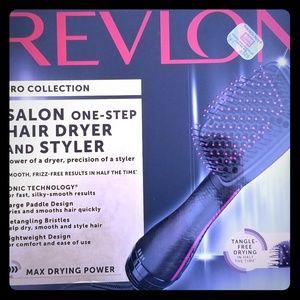 Revlon One-Step Hair Dryer and Pro Motor Dryer
